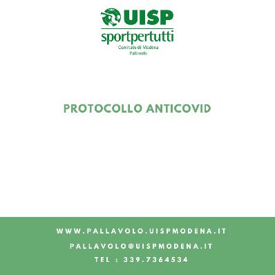 Protocollo Nazionale Gare + Disposizioni Anticovid - 2022