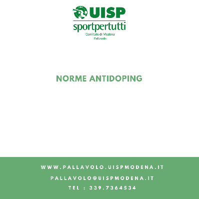Norme Antidoping