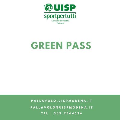 Aggiornamento Utilizzo Green Pass