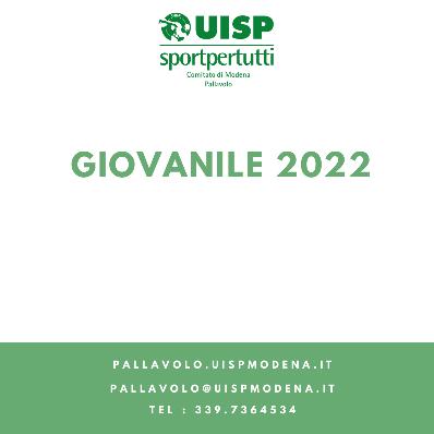 Preiscrizioni Campionati Giovanili 2022